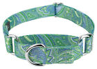 Country Brook Petz™ 1 1/2 Inch Martingale Dog Collar - Paisley Collection