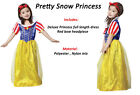 Girl's Snow White princess Costume Fairy Tale Long length fancy dress