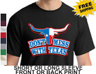 Dont Mess With Texas Lone Star State Longhorn New Mens Cotton  T-Shirt