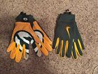 NIKE Green Bay Packers Stadium Fan Football Gloves Size Medium Large GF0418 NEW