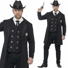 Plus Size Sheriff Mens Costume Large - XXL Fancy Dress Wild West Smiffys 26530