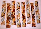 BOOKMARKS~HORSES~Set Of 2~Reversible~Washable~Designs Vary~NEW~FREE SHIP