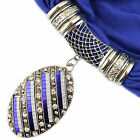 Fashion Sequined Oval Pendant Jewelry Costume DIY Scarf Pashmian Shawl