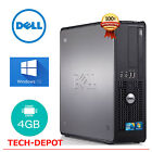 Fast Dell Desktop Computer PC Core 2 Duo 4GB RAM Up to 1TB HD Windows 10 WIFI