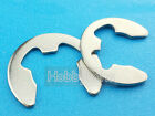 New 100pcs  Φ1.5 E type  snap ring 304 stainless steel GB/T 896