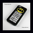 BATMAN FUNNY QUOTE PHONE CASE FOR SAMSUNG P9 LITE