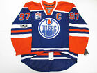 McDAVID EDMONTON OILERS AUTHENTIC NHL 100th ANNIVERSARY REEBOK EDGE 2.0 JERSEY