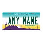 Personalized Arizona License Plate for Bicycles, Kid's Bikes, Atv's & Cars Ver 1