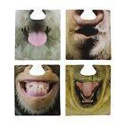 Party Animals wearable drinking mats, funny bar coaster face attachment gift