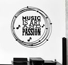 best bedroom tv size - Wall Decal Music Art Best Quote for Room Mural Vinyl Stickers (ig2610)