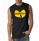WU TANG CLAN Sleeveless Men T-shirt Gza Rza Hip Hop Rap Tee Adult Mens S-5XL