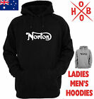 Norton new Classic Logo Motorcycle Hoodie Chopper Vintage Men's Women's T-Shirts