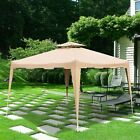 10' x 10' Waterproof Outdoor Garden Party Gazebo Tent Easy Pop Up Canopy Tent