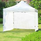 Wind and Sun Shade Privacy Side Curtain Panel for 10 x 10Ft Gazebo Outdoor Decor