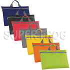 A4 Conference Bag Book Bags Case School Work Business Laptop Tablet Zip Handle