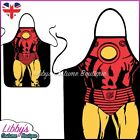 Iron Man Marvel Comics Superhero Novelty Funny Apron Adult Cooking BBQ Chef