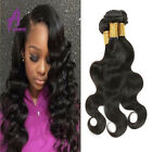 3 Bundles Body Wave Unprocessed Peruvian Virgin Human Hair Extensions Weave 7A