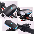 Cycling Bike Bicycle Cree LED Front Light Super Loud Electronic Horn Bell Siren