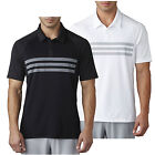 Adidas Golf 2017 Mens Climacool 3-Stripes Competition Polo Shirt