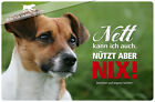 ! JACK RUSSEL TERRIER ! Metall Warnschild .08
