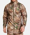 NEW UNDER ARMOUR MEN'S CAMO REALTREE XTRA FULL ZIP JACKET Sz L, XL 1248012 946