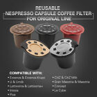 BRBHOM Reusable Nespresso Coffee Capsules Refillable Coffee Pod Stainless Filter