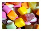 Dolly Mix Candy Sweets Retro Art Print Poster - s505