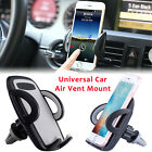 360° Car Air Vent Mount Holder Cradle Stand Universal for Cell Phone iPhoneX S8
