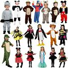 Kids Boys Girls Story Characters World BOOK Day Fancy Dress Comic Party Costumes