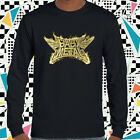 New BABYMETAL Japan Metal Band Men's Long Sleeve Black T-Shirt Size S to 3XL