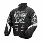 Arctic Cat Men's SMALL Black Team Arctic Sponsor Snowmobile Jacket, 5250-151