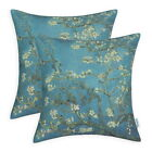 Pack of 2 CaliTime Cushion Cover Pillows Cases Van Gogh Great Picture Decor 45cm