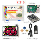 Raspberry Pi Model 3 B Wifi Bluetooth Motherboard Box Case Heat Sink Starter Kit