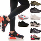 LADIES WOMENS TRAINERS GYM FITNESS P.E RUNNING JOGGING LACE UP SHOES SIZE