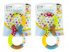 Baby Rattle Playtime Toy Twist Turn Rattle Textured Easy Grip 6 Mths+ BPA Free