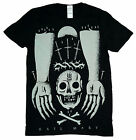 Mens Iwrestledabearonce Hail Mary Skull Metal Core Band T-Shirt Top Small