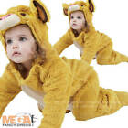 Simba Lion Toddler Jumpsuit Costume Disney Lion King Childs Fancy Dress Outfit