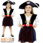 Deluxe Pirate Girls Fancy Dress Buccaneer Carribbean Book Day Childs Kid Costume