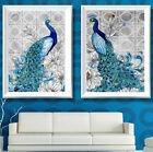 5D Diamond Painting Flower Peacock Embroidery Cross Stitch Ornaments Painting