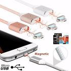 2.4A Micro USB Charging Cable Magnetic Adapter High Speed Charger Sync cable