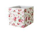 patterned storage boxes cardboard