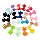 2 Inch Baby Girls Small Bows Clip Kids Ribbon Bowknot Headwear Hair Accessories