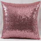 Bling Sequins Glitter Sofa Cushion Pillow Cover Case For Home Office 16 8Colors