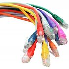 Cat5e Patch UTP COPPER 26 AWG Cable Flush Moulded RJ45 0.5m 1m 2m 3m 5m 10m