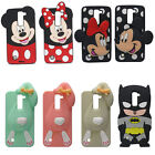 3D Cartoon Rabbit Soft Silicone Rubber Gel Cover Case Skin For Various Phones