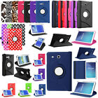 "360 Premium PU Leather Case For Samsung Galaxy Tab E 8"" 7"" 9.6"" T110 T377 T560NU"