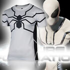 Men's Compression Marvel Superhero Top Print T-shirts Gym Fitness Sports Shirts