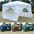 10'X10' EZ POP UP Tent Gazebo Wedding Party Canopy Shelter Carry Bag