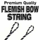 "50.5"" ACTUAL LENGTH FLEMISH Fastflight RECURVE BOW STRING BOWSTRING - 10 COLORS"