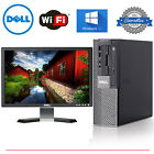 Dell Intel CORE i5 Speed Desktop Computer WINDOWS 10 + LCD + KB + MS + SDD + 1TB